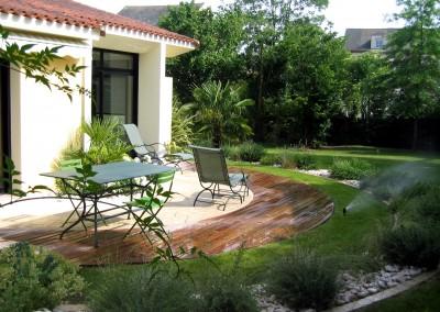 Espace de vie - Terrasse, Jardin