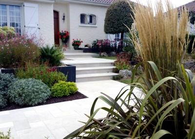Espace végétalisé - Escalier