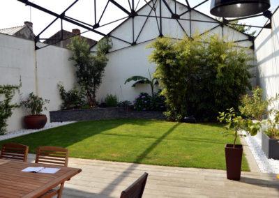Espaces de vie - patio