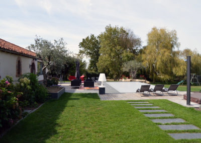 Espaces de vie - terrasse