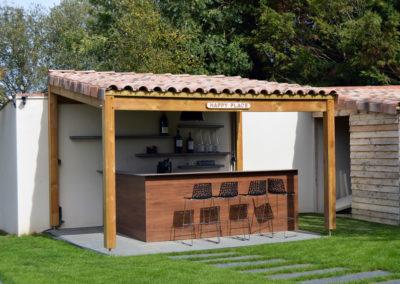 Espaces de vie - cuisine extérieure