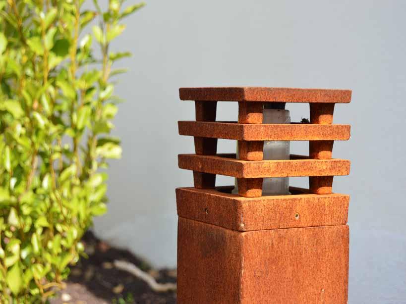 eclairage, spots, jardin